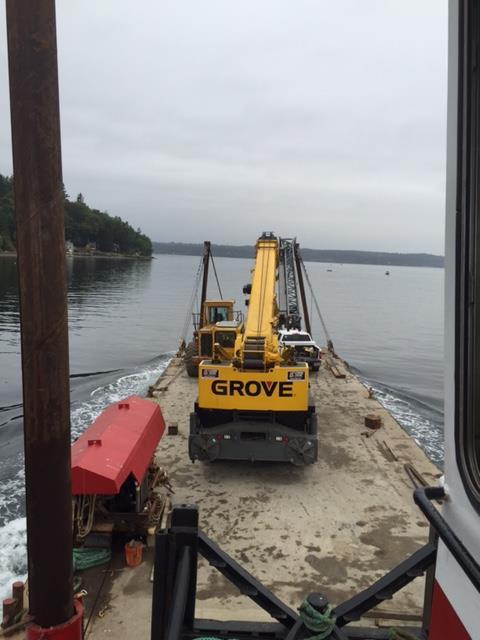 Remote Island Construction