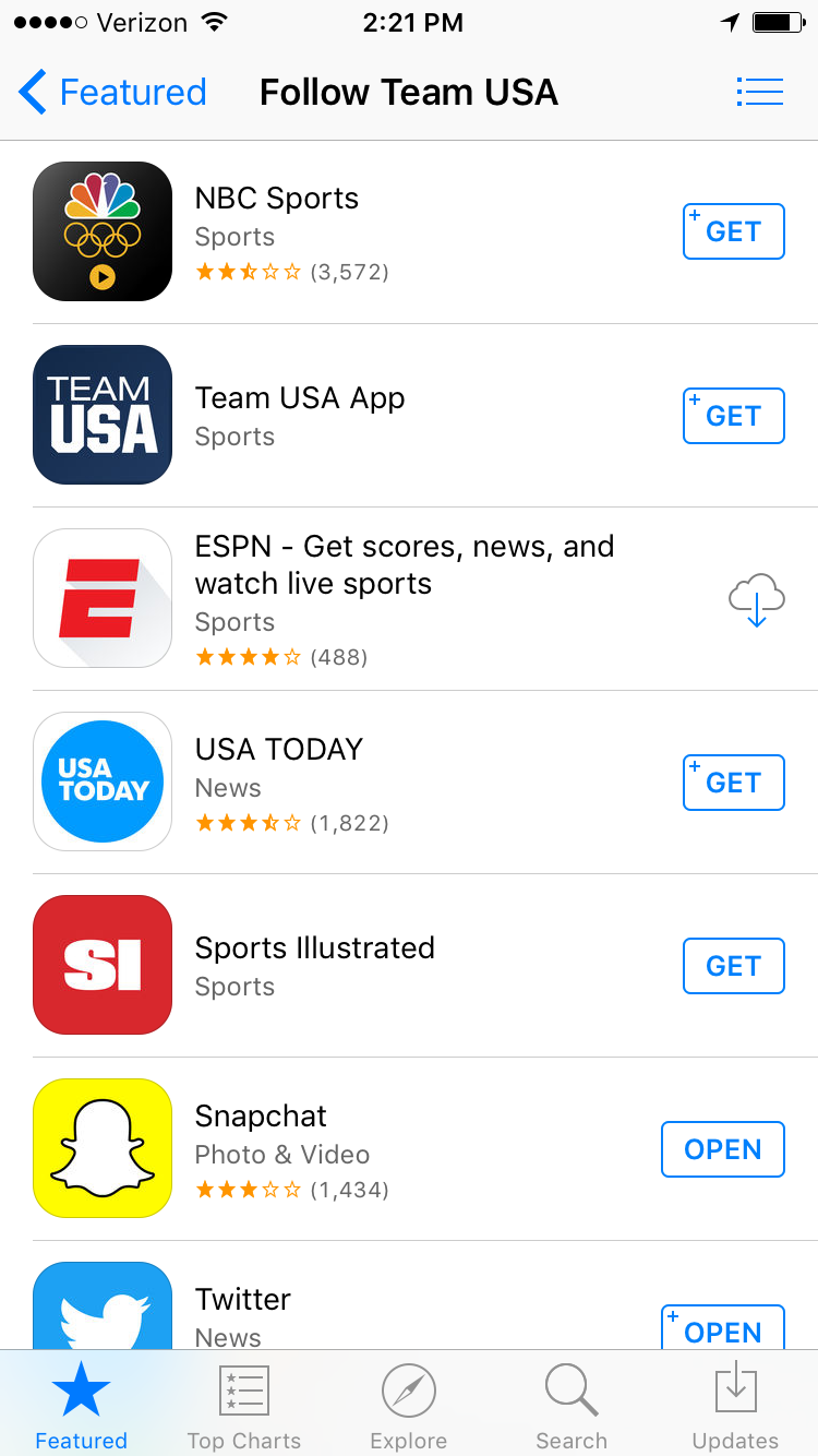 All the ways to follow on the App Store