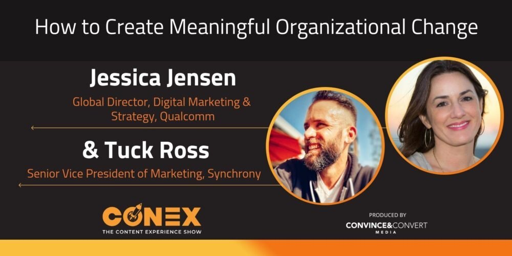 Tuck Ross and Jessica Jensen on the Conex podcast