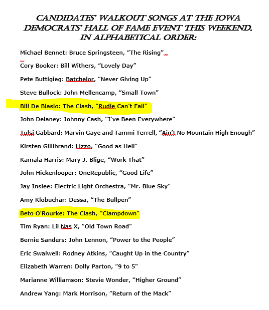 """Waiting for Joe Strummer to crawl out of his grave to b*tch-slap """"wankers"""" De Blasio and O'Rourke."""