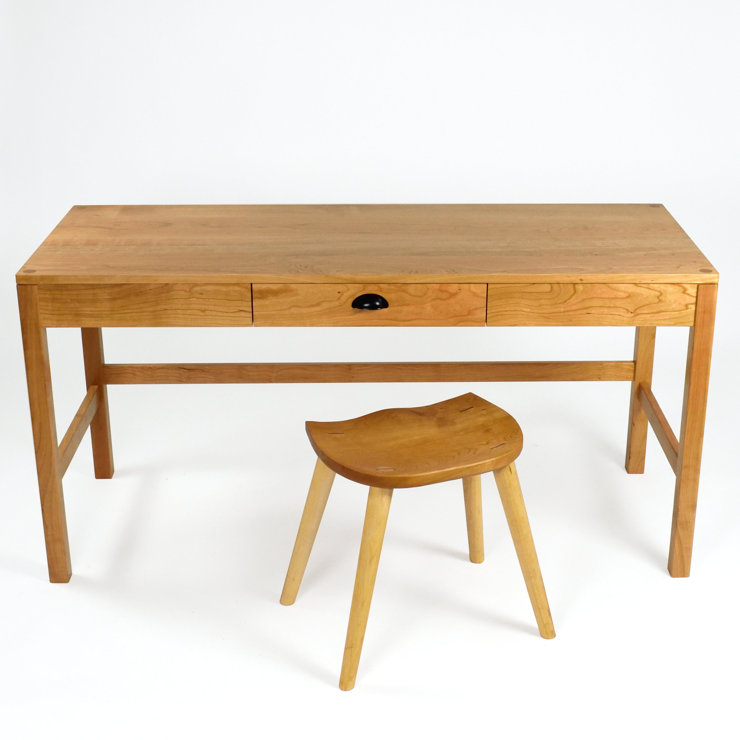 Desk and stool - Sustar Woodworks.JPG