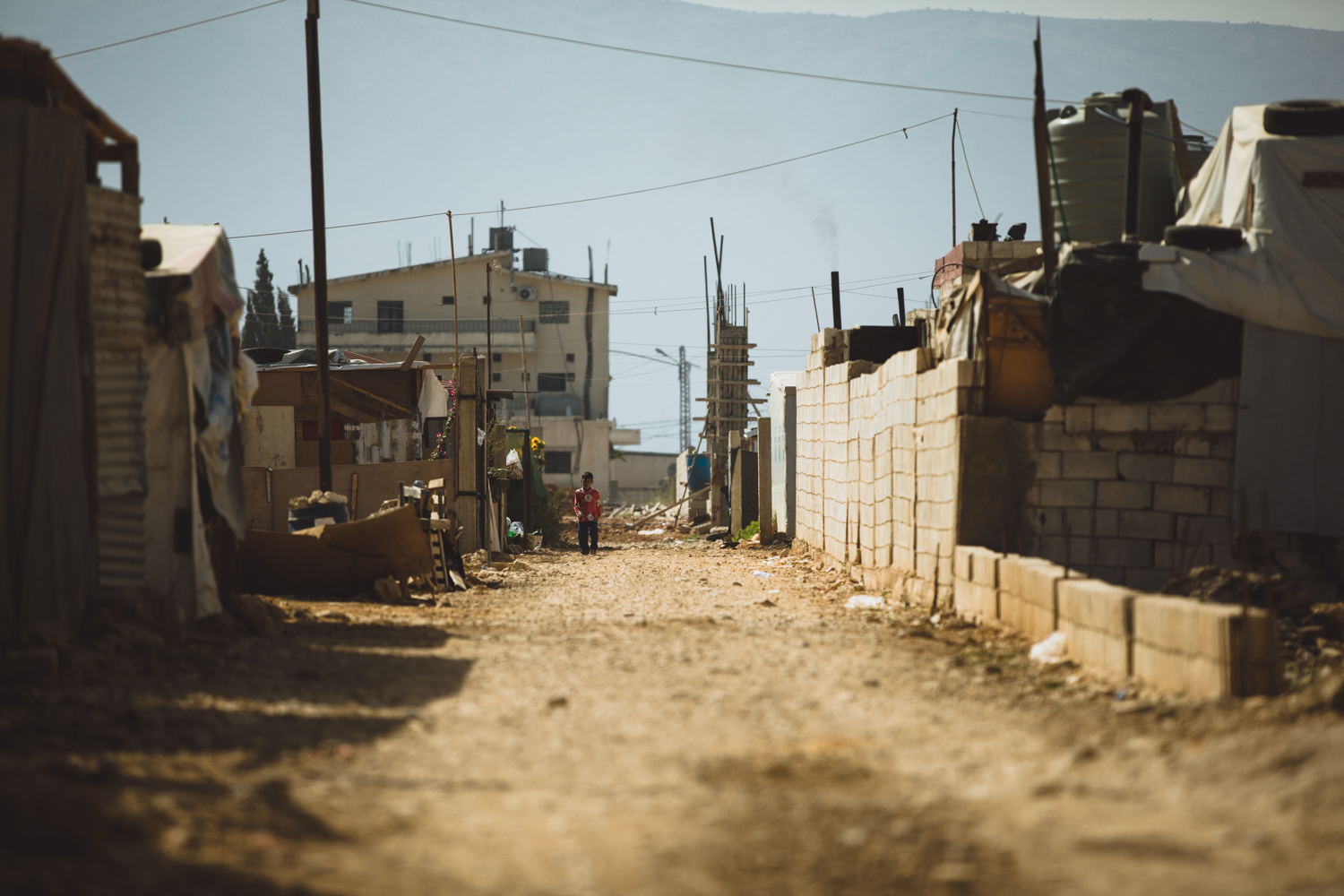 Unnamed refugee camp, Bekaa Valley.
