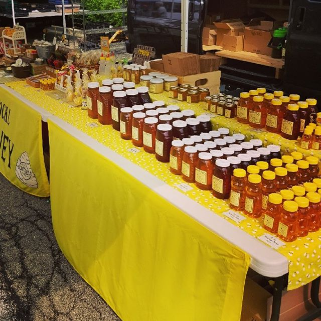 Join us tomorrow at Naperville's 5th Avenue Station Farmers Market for our first honey tasting of the season. .  We will have honeys for all seasons for you to enjoy. Come discover your favorite flavor from 7a - 12p, weather permitting. .  #chicagoland #bees #honeybees #localhoney #rawhoney #beekeepers #naperville #farmersmarket #5thavenuestation