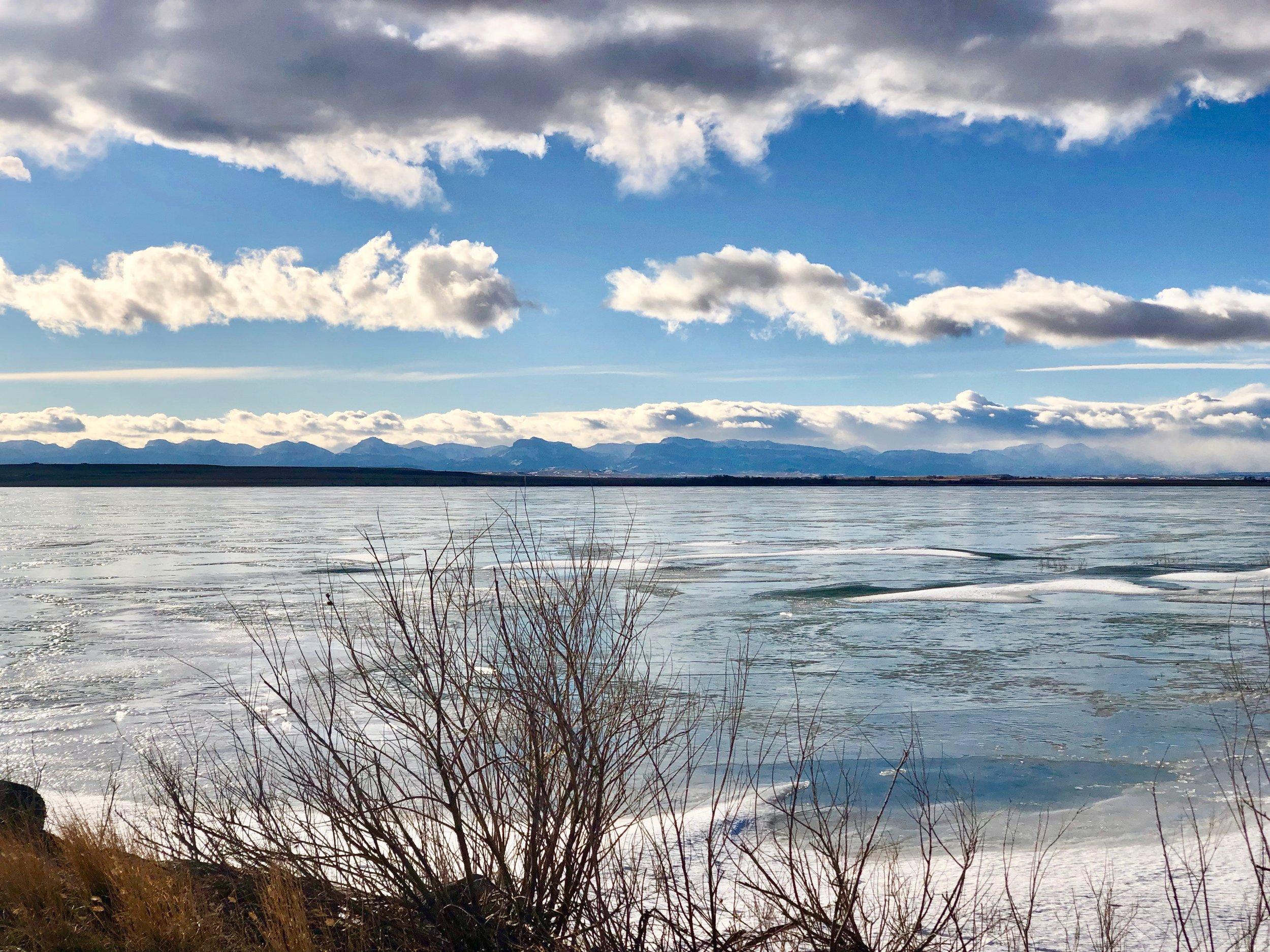 Lake Frances: Valier, Montana