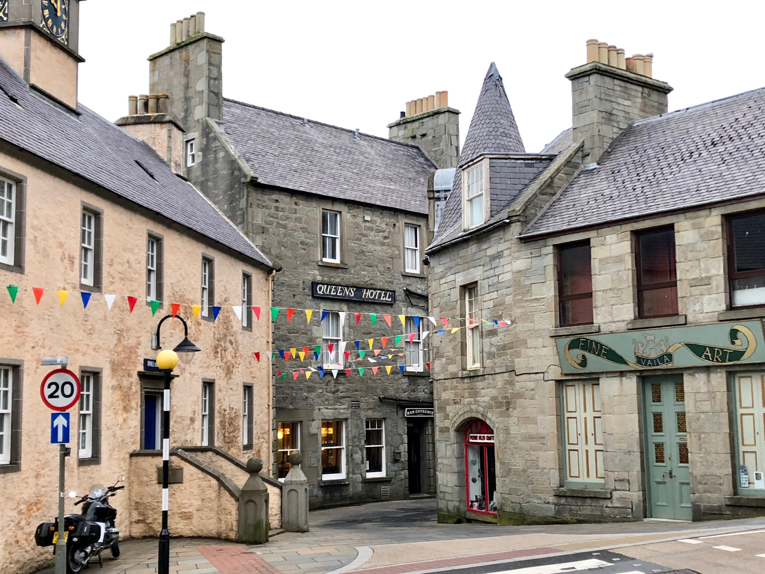 Lerwick Commercial District
