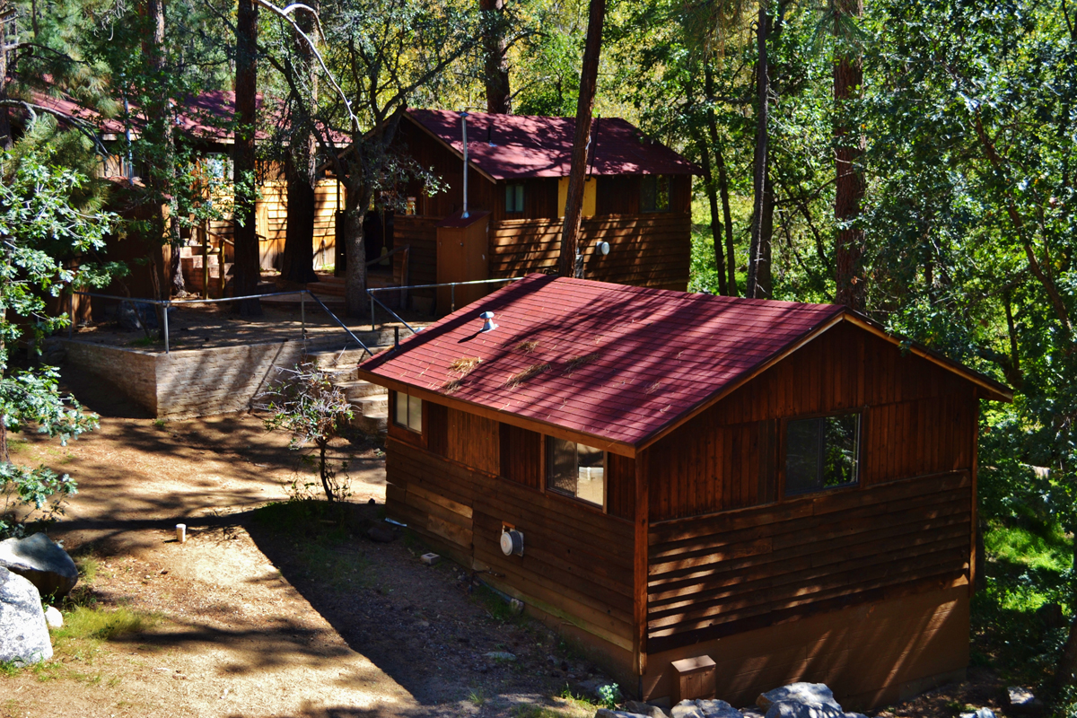 Cabin Exterior - Creekside Village