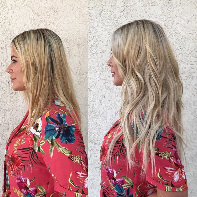 Want #HandTiedExtensions ? We're here for you 💁🏼♀️ . . DM for a complimentary consult