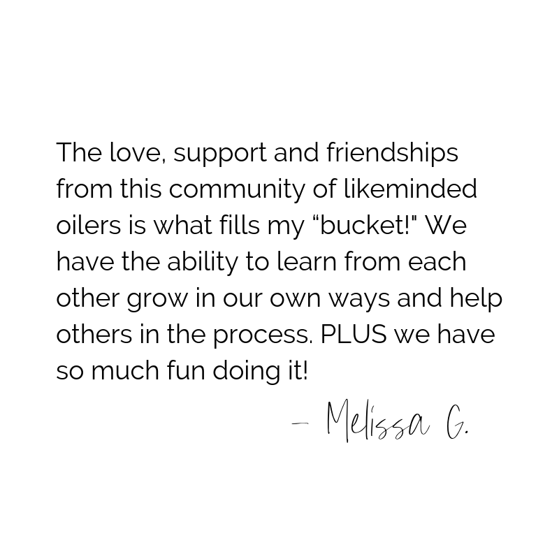 """The love, support and friendships from this community of likeminded oilers is what fills my """"bucket""""! We have the ability to learn from each other grow in our own ways and help others in the process; doesn't get much.png"""