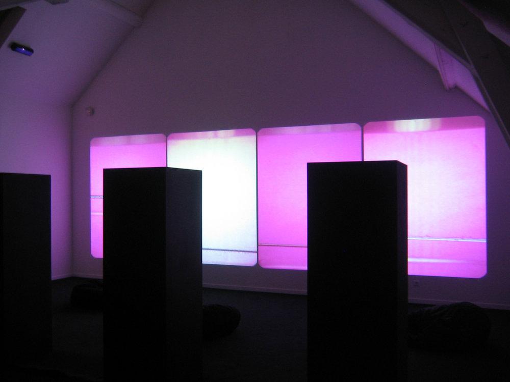 Sound Strip / Film Strip  , Espace Multimédia Gantner, Belfort, France, 2007