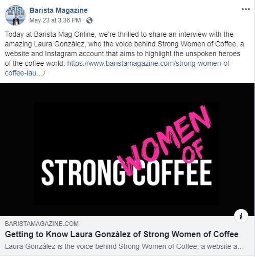 Barista Magazine Online / May 23rd 2019
