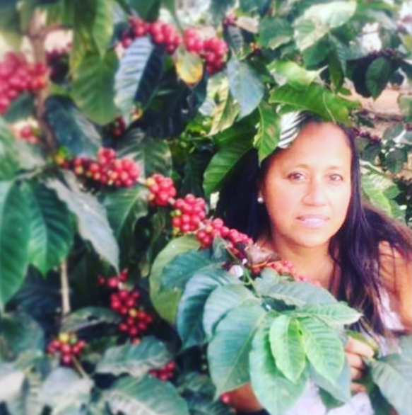 "- ""Coming from an underprivileged family with a very low income (practically zero), I had the opportunity of self-improvement and with hard work, I was able to start my own coffee export business. Through my business, I have been able to help my family and the town of Bellas Vista, Chiapas."" - Rosalba, Coffee producer @mayanharvestcoffee"