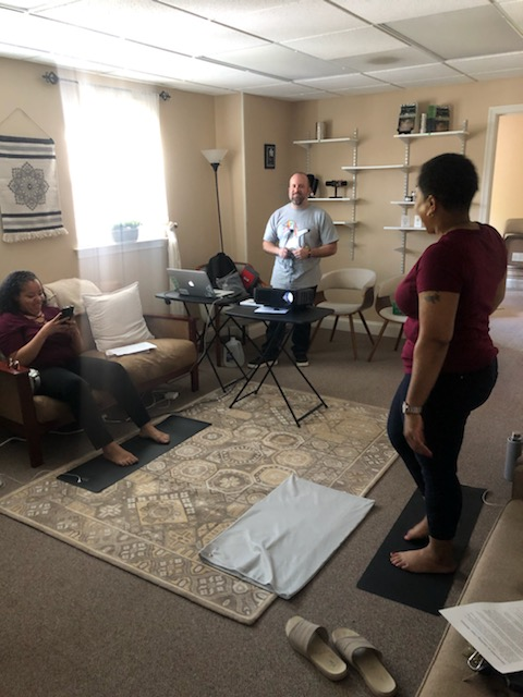 Earthing Class at Lotus Wellness Center