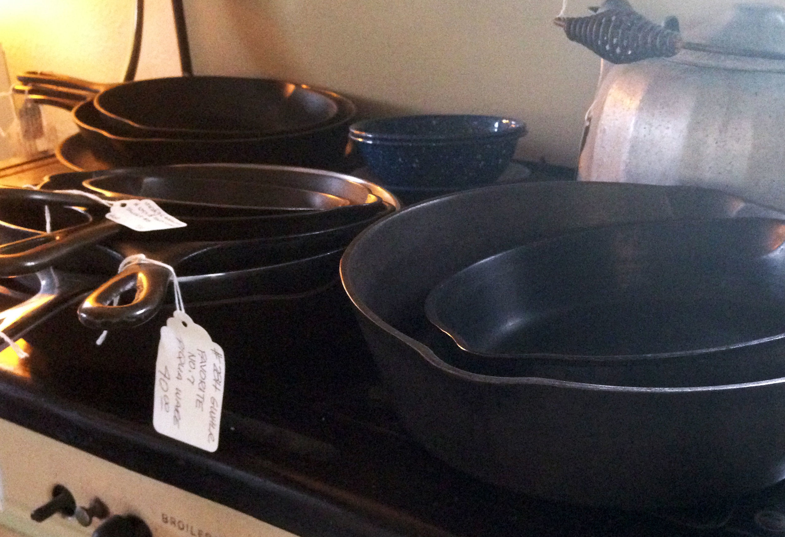Cast Iron Skillets made in USA