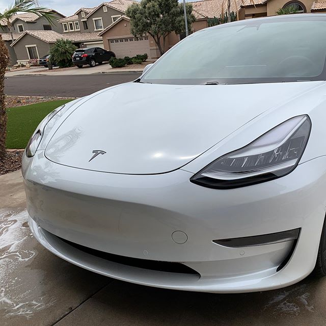"""Someone got a touchless wash today. """"Life With Tesla"""" Tip of the day - Which Game Controller Works For All Games  Tomee """"Moonlight"""" N64 USB Controller for PC/ Mac (Clear Blue) by Fulfillment Express US Learn more: https://www.amazon.com/dp/B0050SZDPE/ref=cm_sw_em_r_mt_dp_U_gyQxDbF64WMW1  Tesla Owners Nation https://www.facebook.com/groups/TeslaOwnersNation/  You can use my referral code to get 1,000 free Supercharger miles on a new Tesla!  https://ts.la/johnathan37584  #tesla#teslas#tsla#teslamotors #teslamodels#teslamodelx #teslamodel3#teslamodely #teslaroadster#teslasupercharger #teslalife#teslaowner#teslacar #teslacars#teslaenergy#powerwall #gigafactory#elonmusk#spacex #electricvehicle#electriccar#EV #evannex#teslagigafactory #mytesla #lightsportman #lifewithtesla ,tesla,teslas,tsla,teslamotors ,teslamodels,teslamodelx ,teslamodel3,teslamodely ,teslaroadster,teslasupercharger ,teslalife,teslaowner,teslacar ,teslacars,teslaenergy,powerwall ,gigafactory,elonmusk,spacex ,electricvehicle,electriccar,EV ,evannex,teslagigafactory ,mytesla ,lightsportman ,lifewithtesla"""