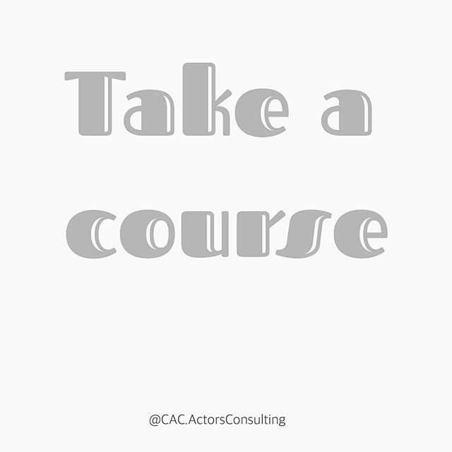 """// #WorkingActorTipTuesday Take a course! How are you going to learn what you don't know? You take a course! If you're stuck, how are you going to get moving? You have to be committed to learning so you can continue to grow and move forward! Our Pre-professional package is an """"Agency Ready"""" learning experience geared toward turning your goal into doable steps! And it's customized to your needs as an actor! Link in bio to check out the packages!"""