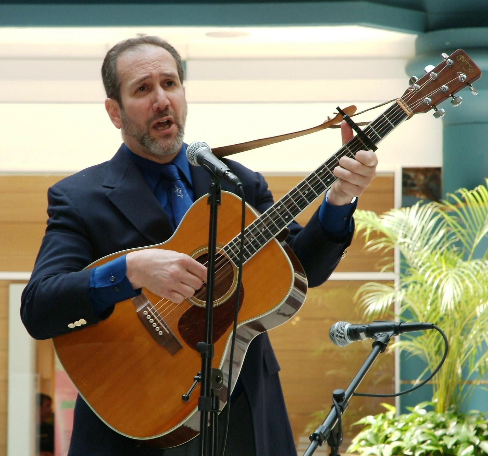 Cantor Stephen Freedman Concert performance