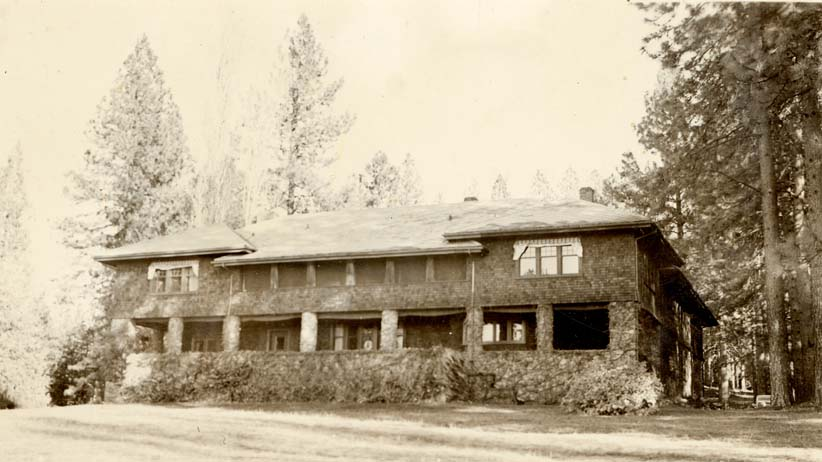 North Star House exterior, 1904 designed by Julia Morgan (photo courtesy of the Foote Family Archive)