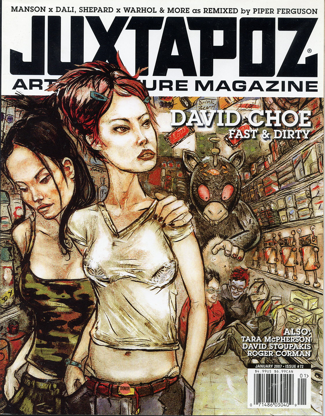 Juxtapoz Arts and Culture 2007