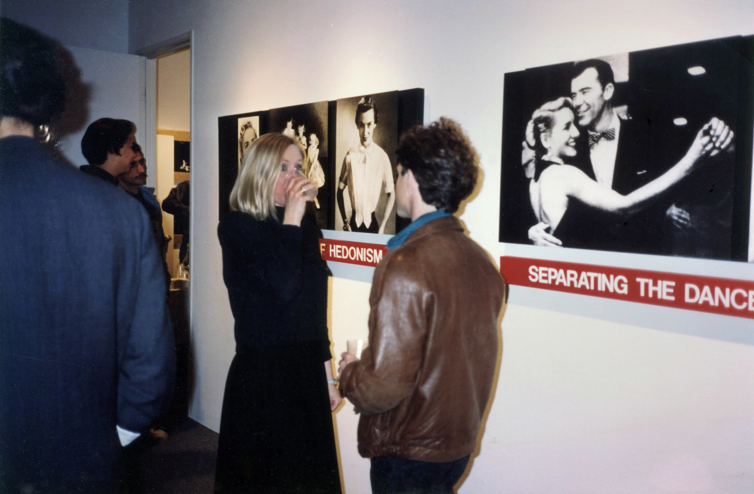 Opening Fahey Klein Gallery 1991