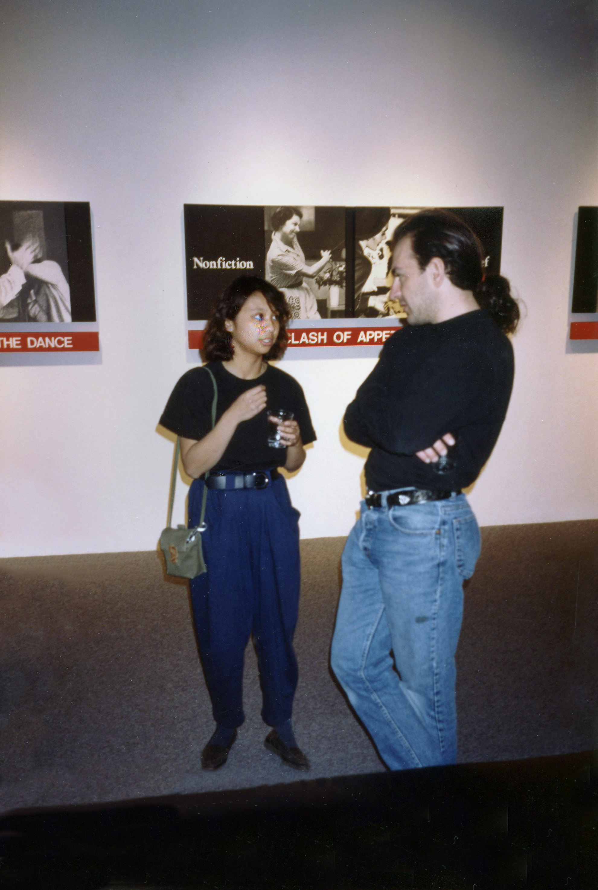 Mary Rose Mendoza, Fahey Klein Gallery 1991