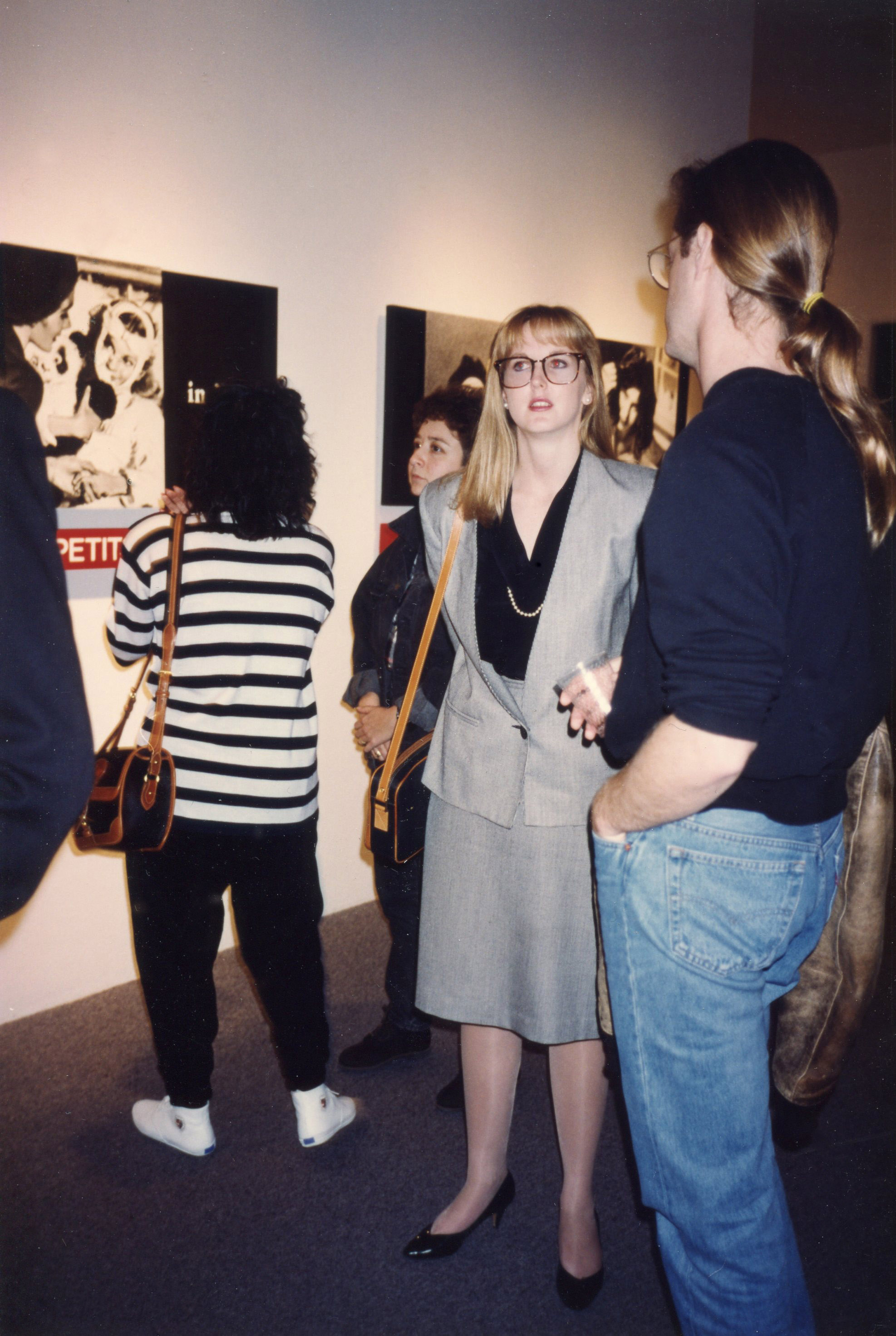 Opening, Fahey Klein Gallery 1991