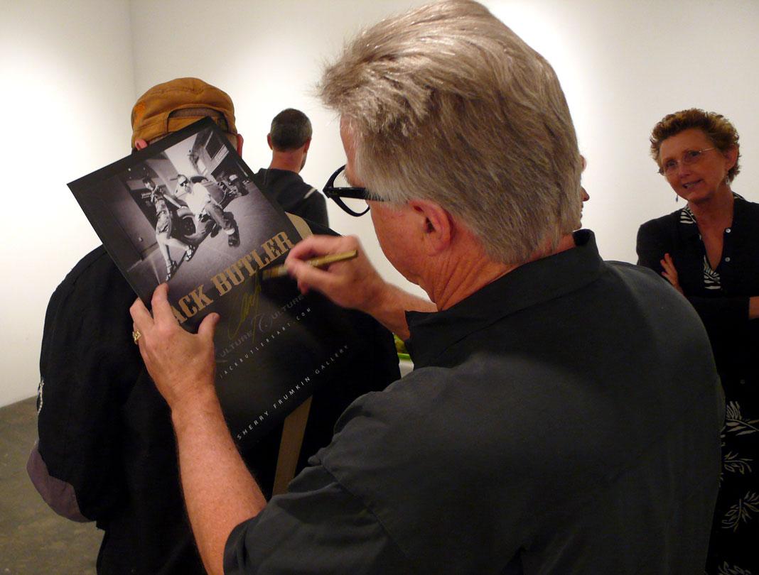 Poster Signing, Frumkin Gallery