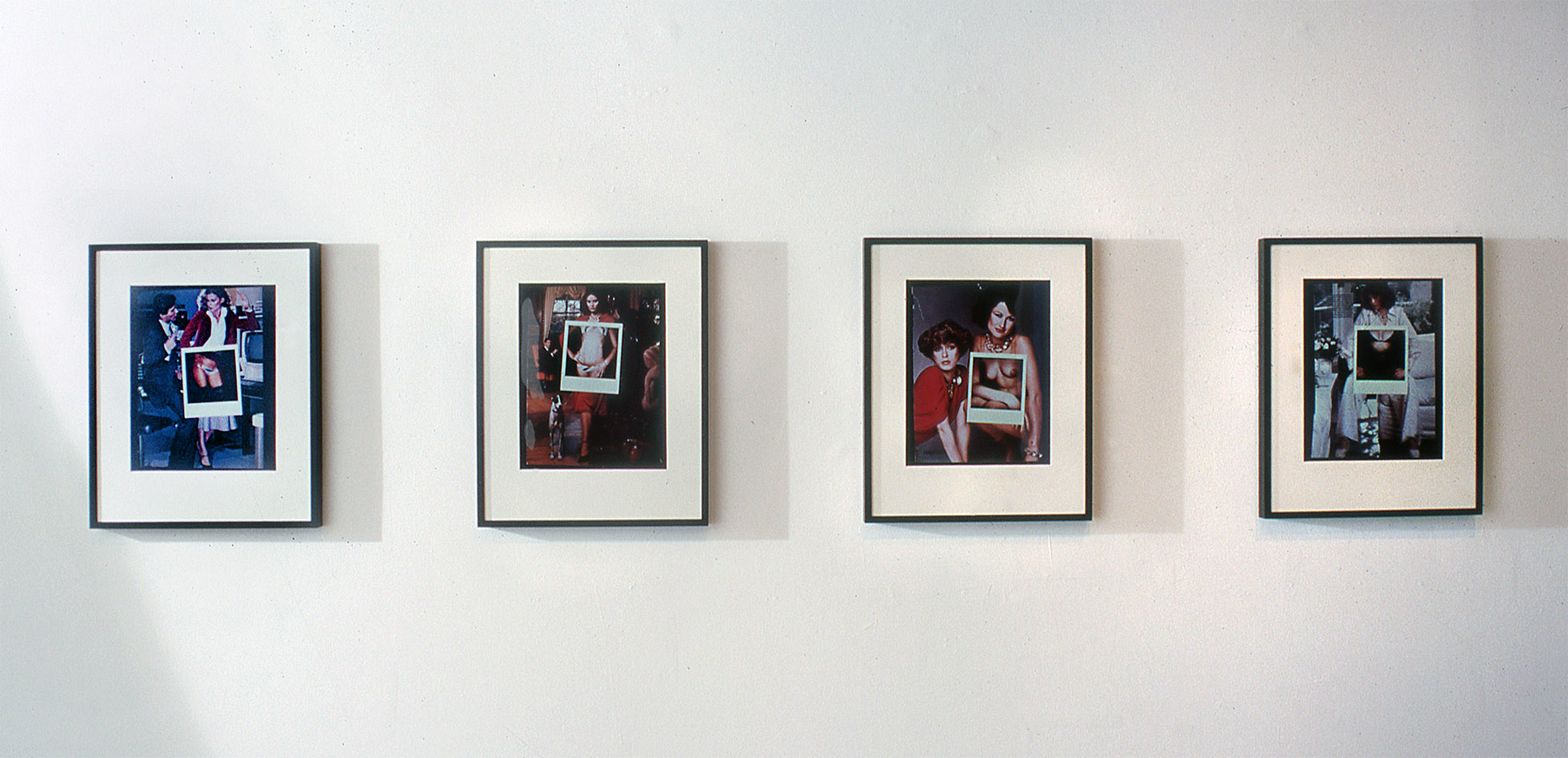 """Cliche very"" Sherry Frumkin Gallery 2001"