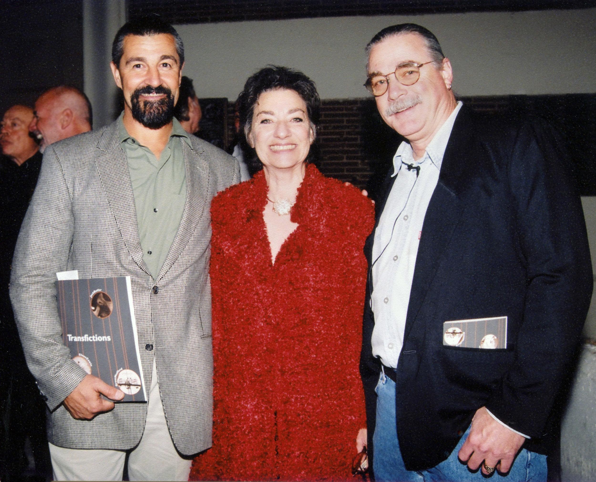 Tim Wride, Selma Holo, Jack Butler, USC, 2004