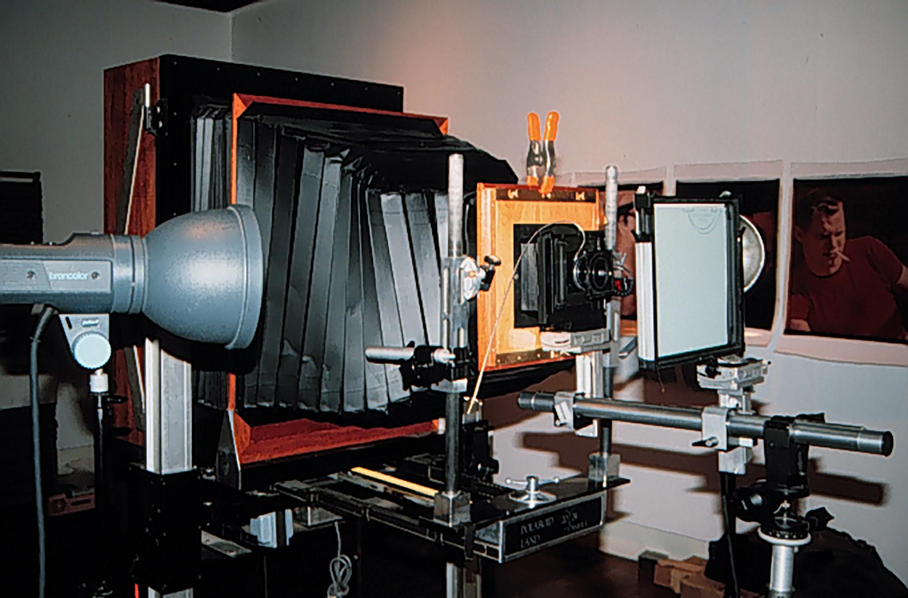 20x24 Polaroid Camera set up
