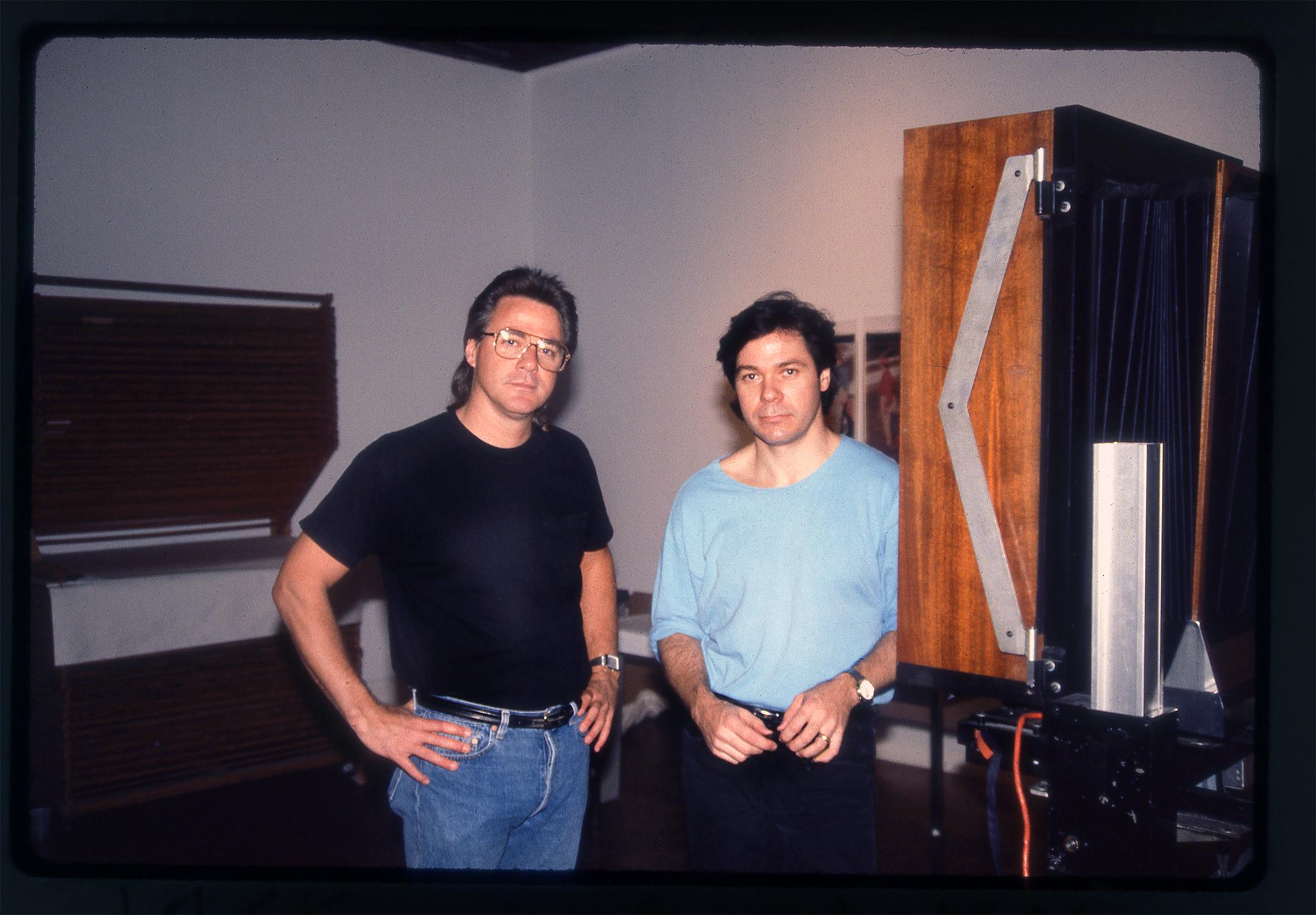 Jack Butler and John Reuter, Polaroid 20x24 Camera
