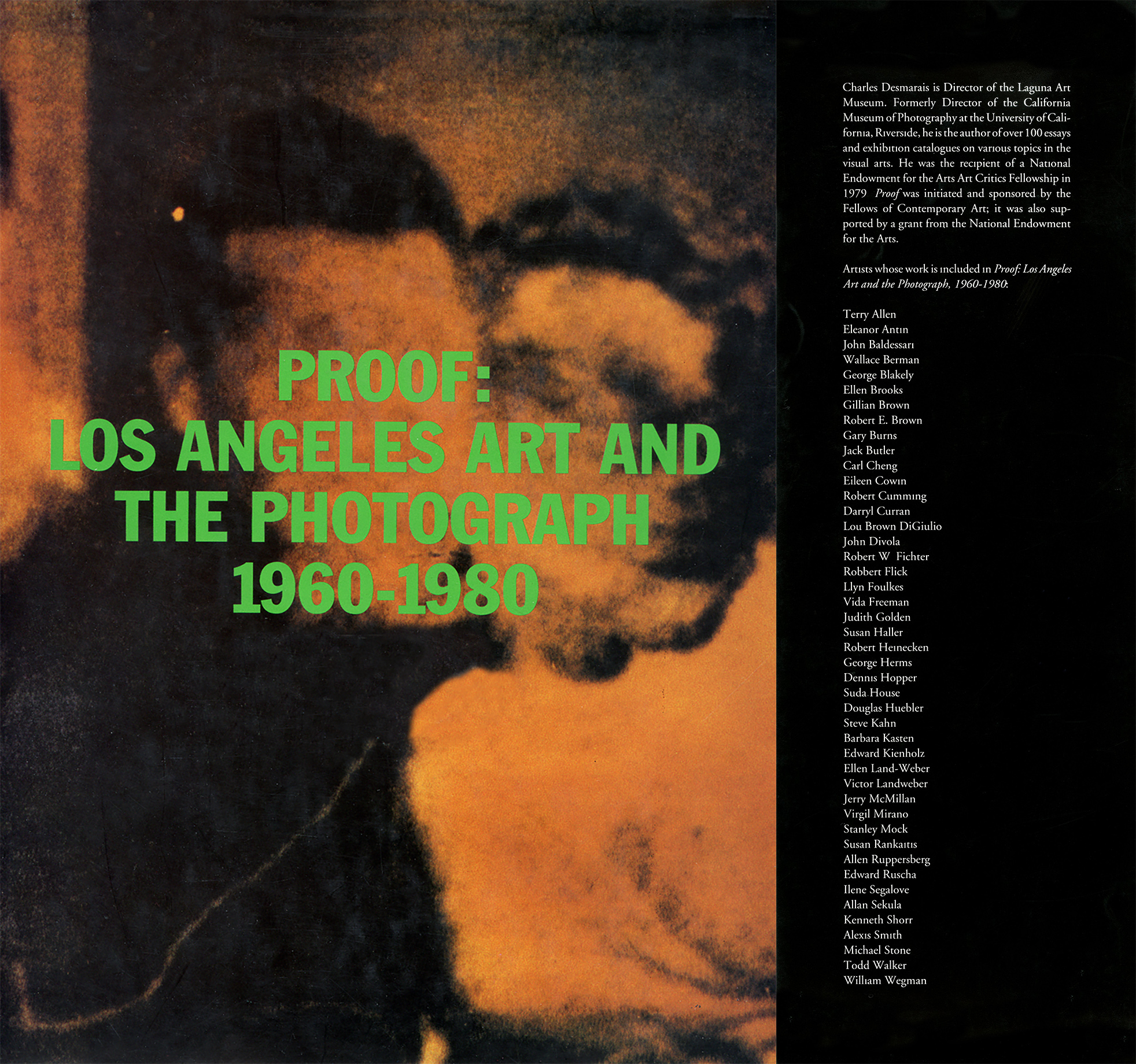 Proof: Los Angeles Art and the Photograph 1960-1980