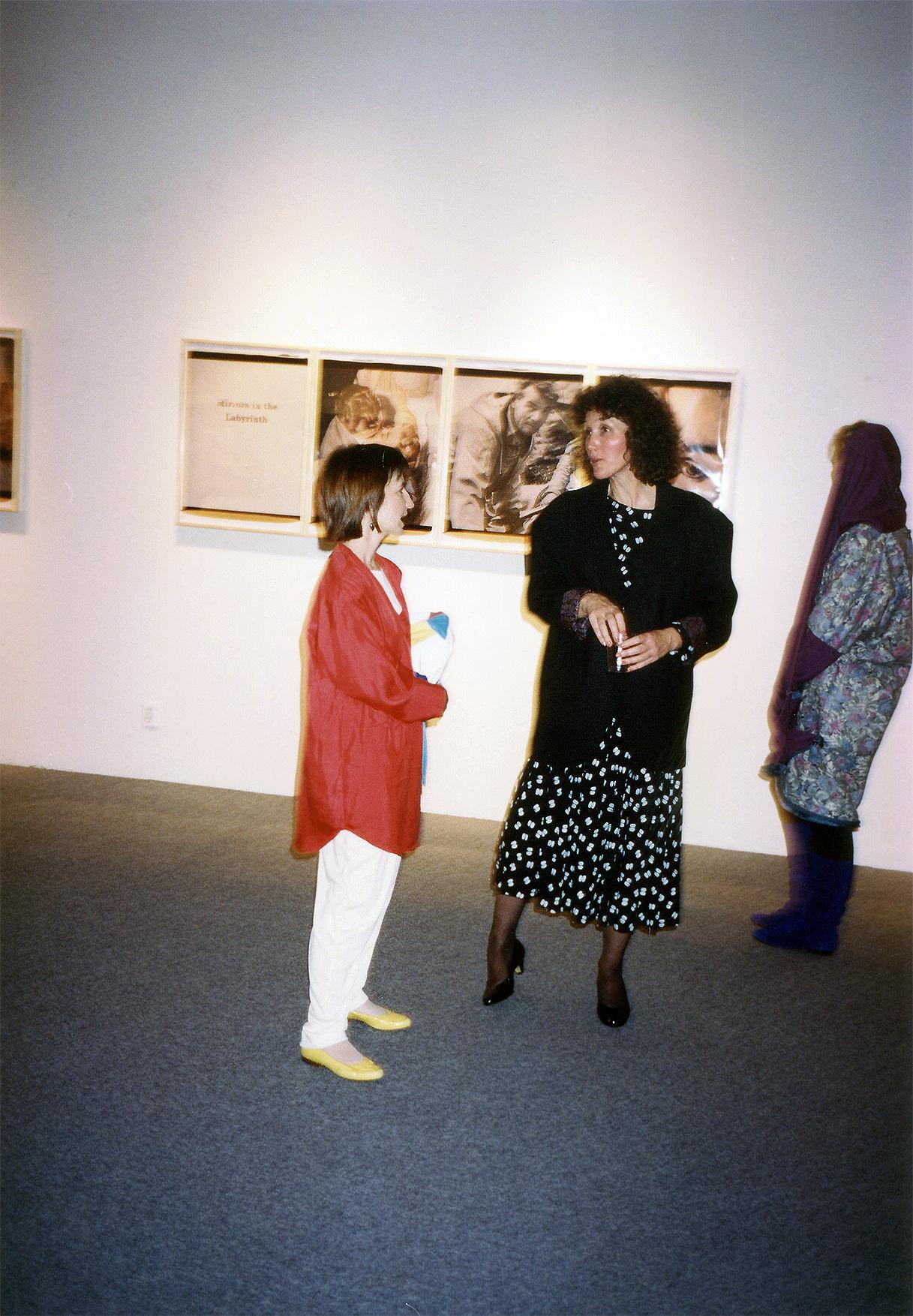 Susie Stroll, Nancy Butler, Fahey Klein Gallery 1990