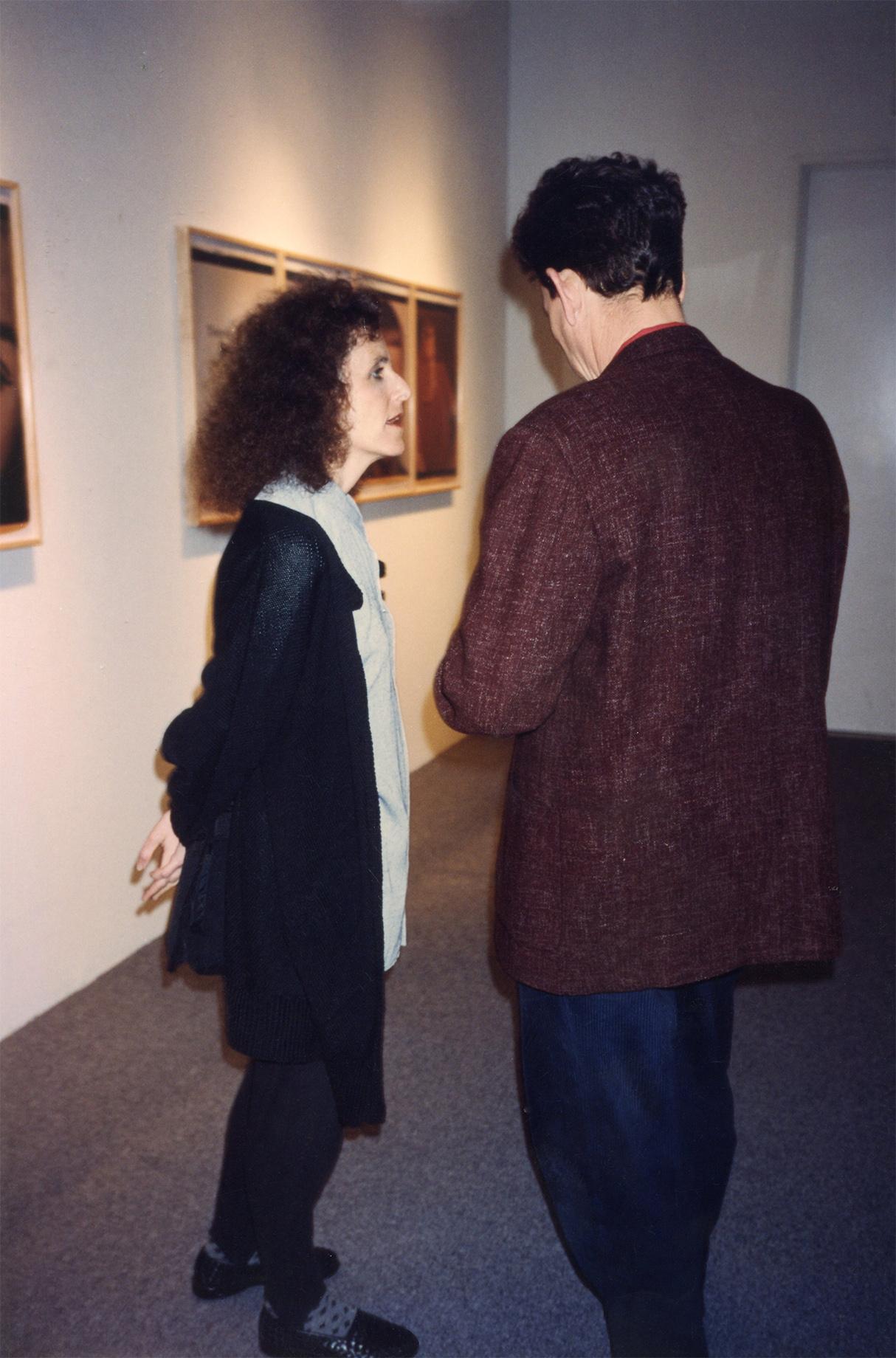 Eileen Cowin, Jay Brecker, Fahey Klein Gallery 1990