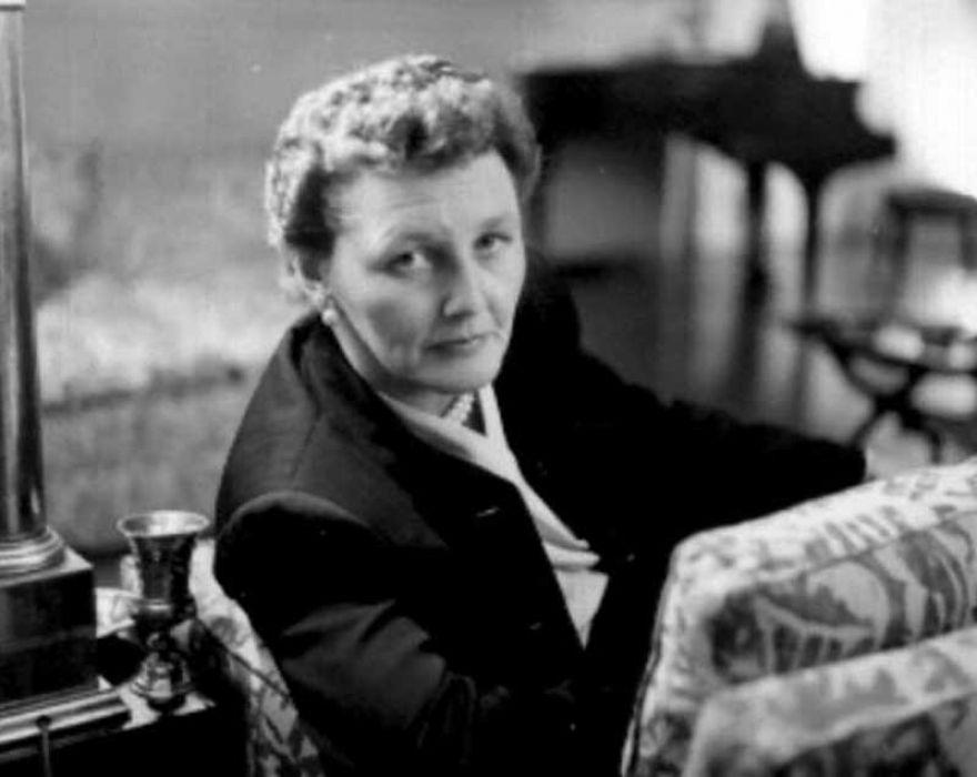 Mrs Marty Mann. Photograph taken around 1963, artist unknown. Source:  NCADD