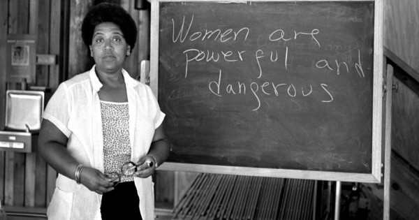 Source : Photograph of activist Audre Lorde