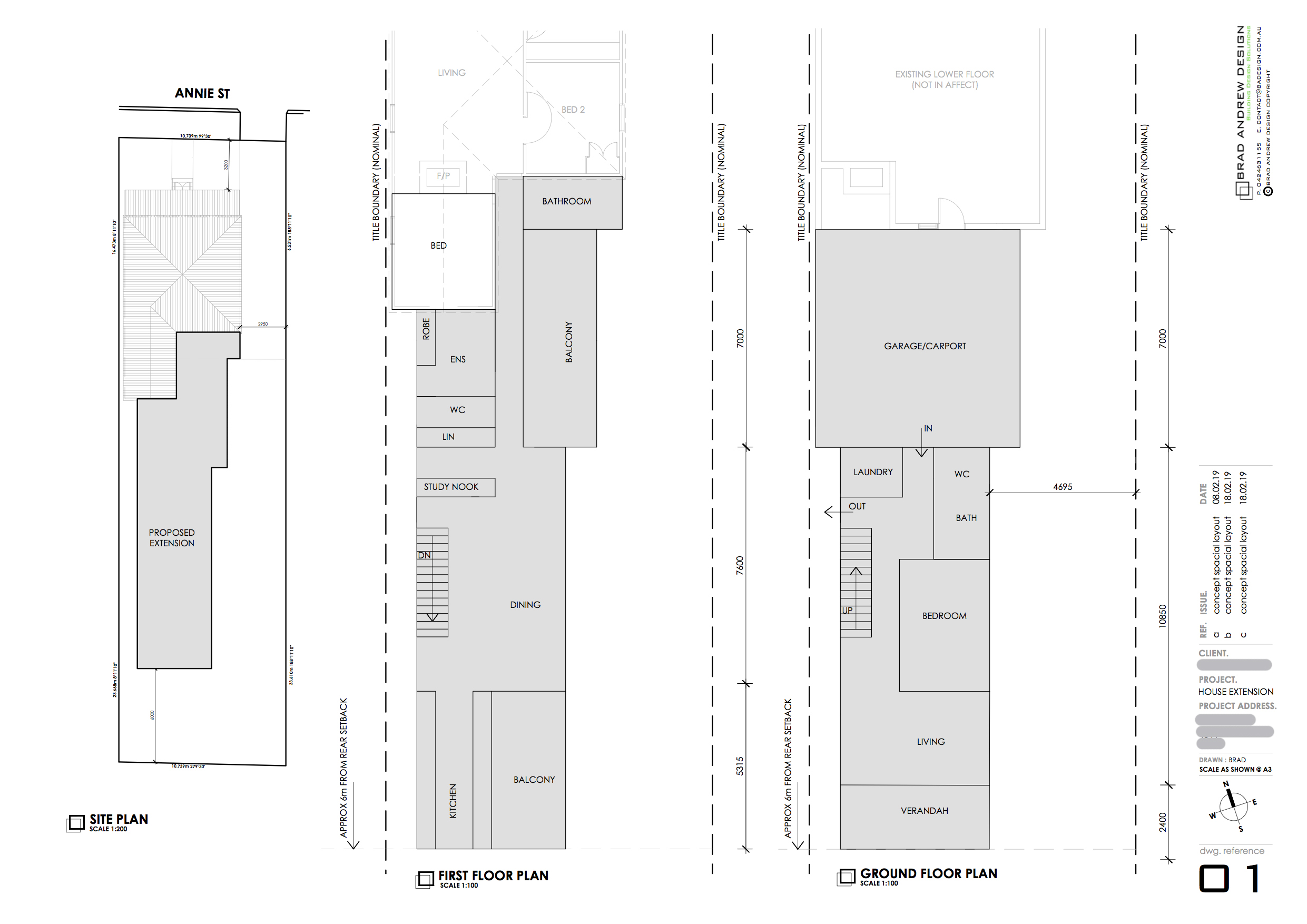 Concept Design Sample - For Site Layout and Space Planning
