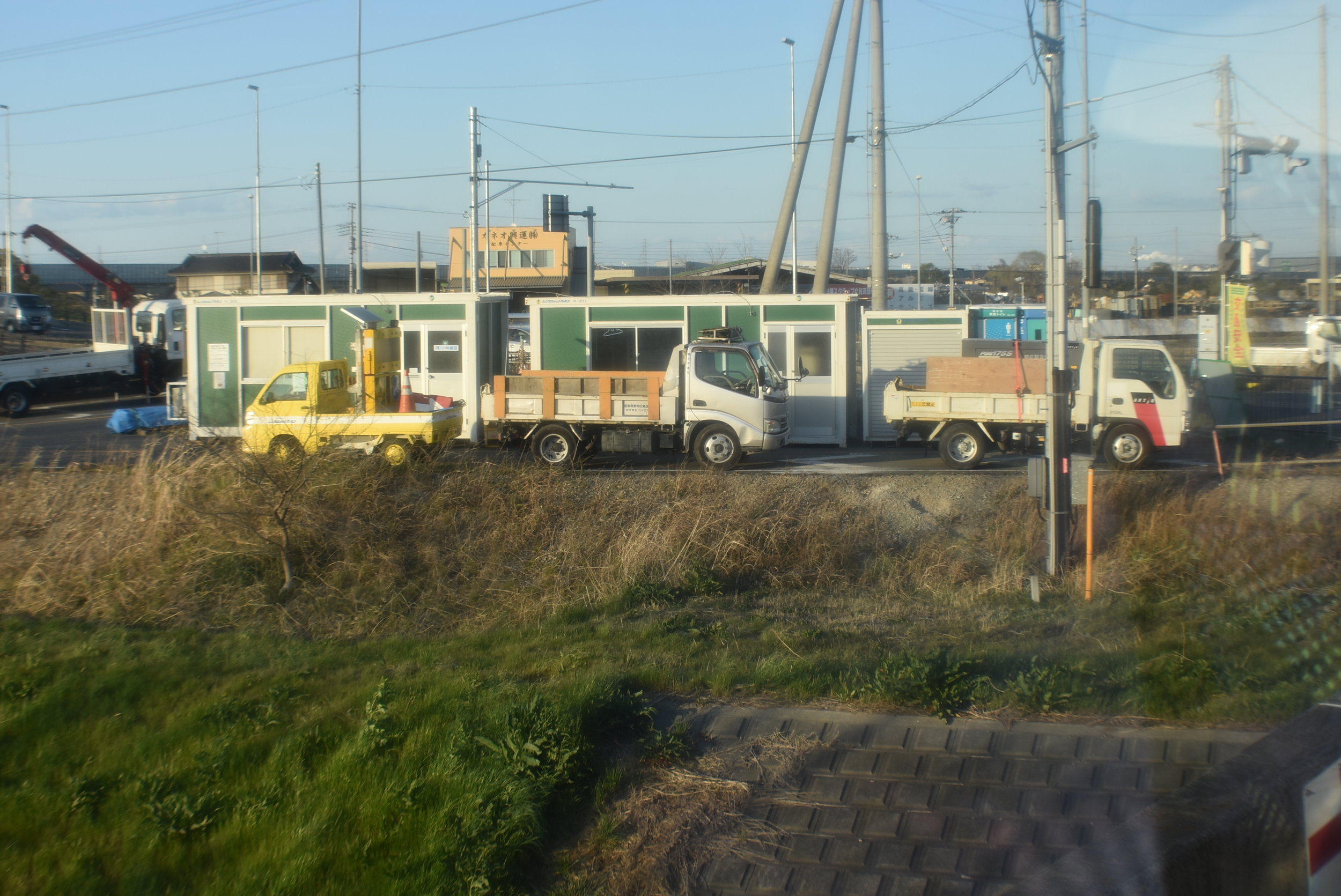 Next up was 1.5 hours on the bus which made for a lot of cool sights to see! I love these little Kai trucks!