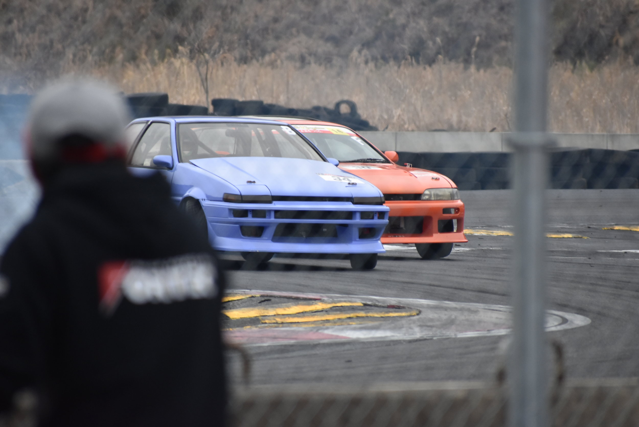 Battles continued on. The level of driving was just what you would expect from a BM event.