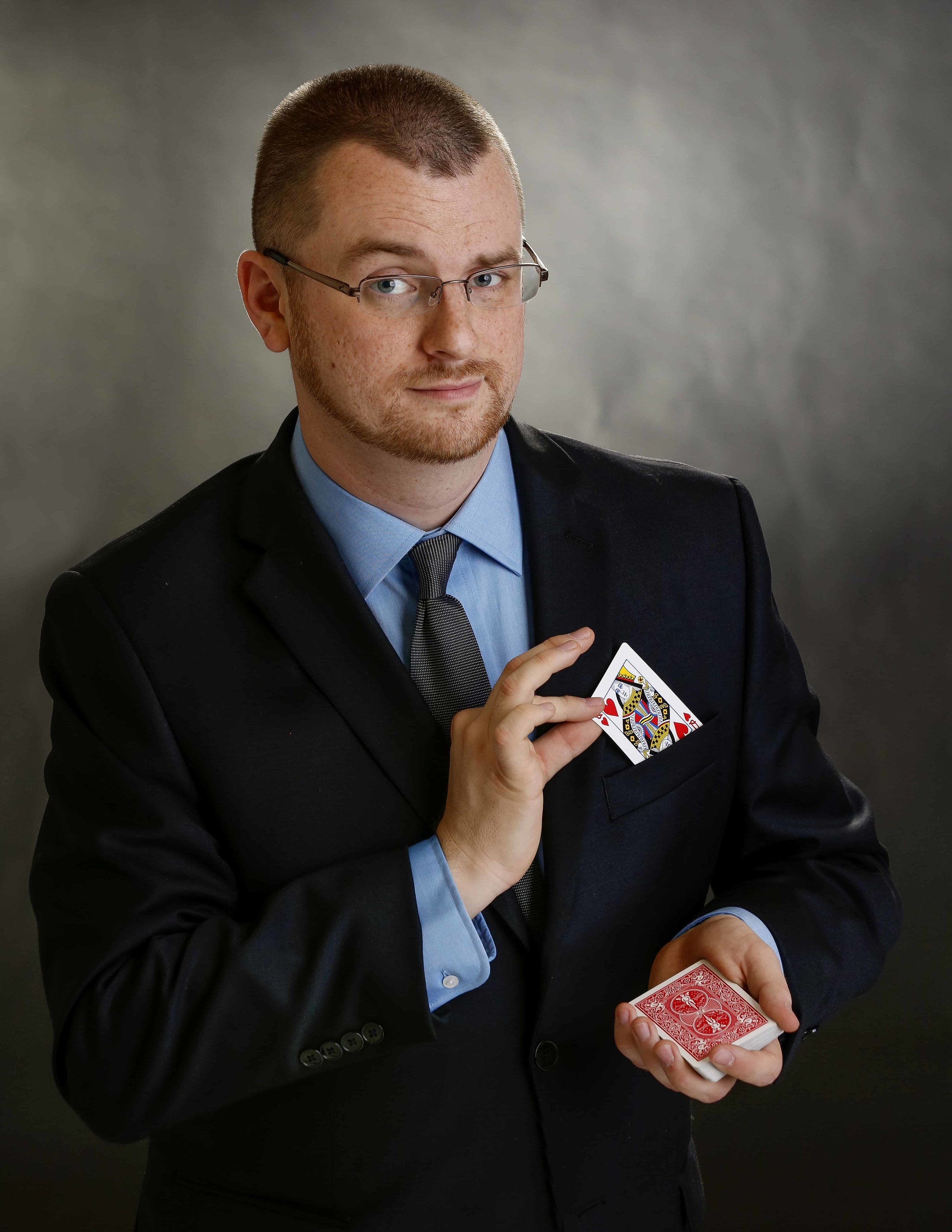 About Indianapolis Magician Caleb Wiles