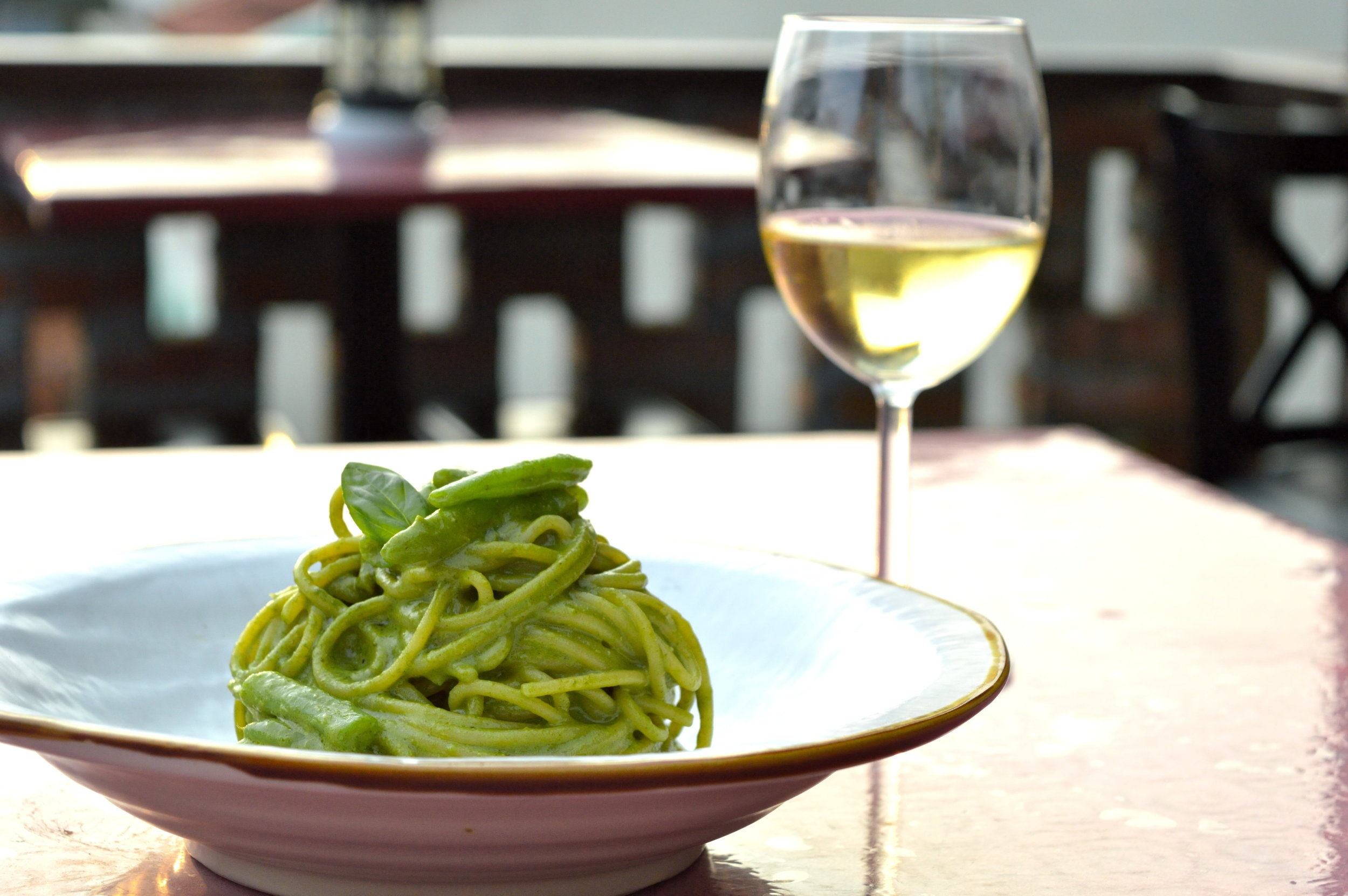Spaghetti Green Days - Dining at D.O.P. @ The Attic bar