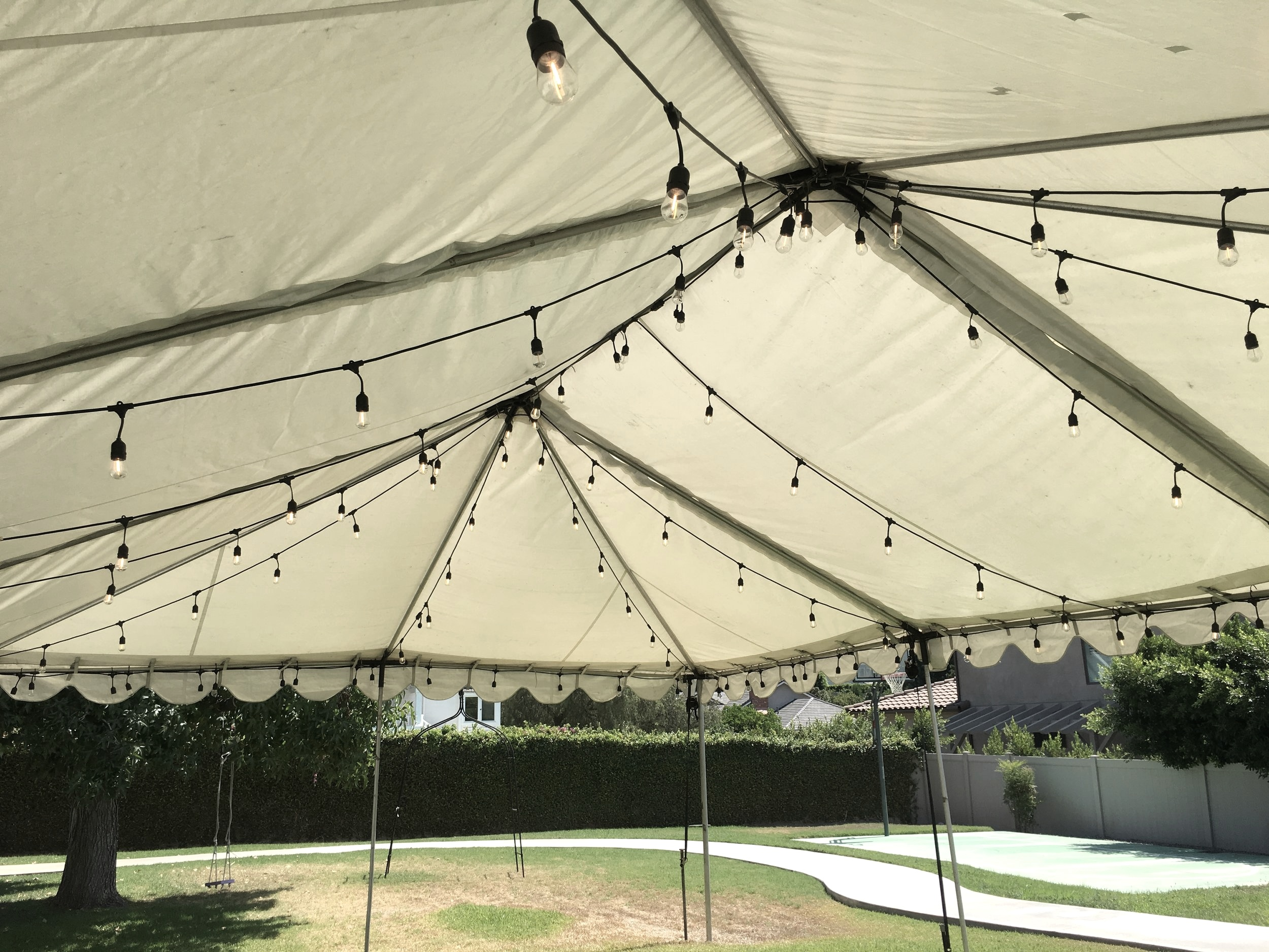 Tent With Lights.JPG
