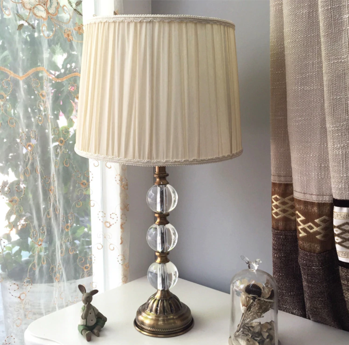 Mini Crystal Table Lamp Modern