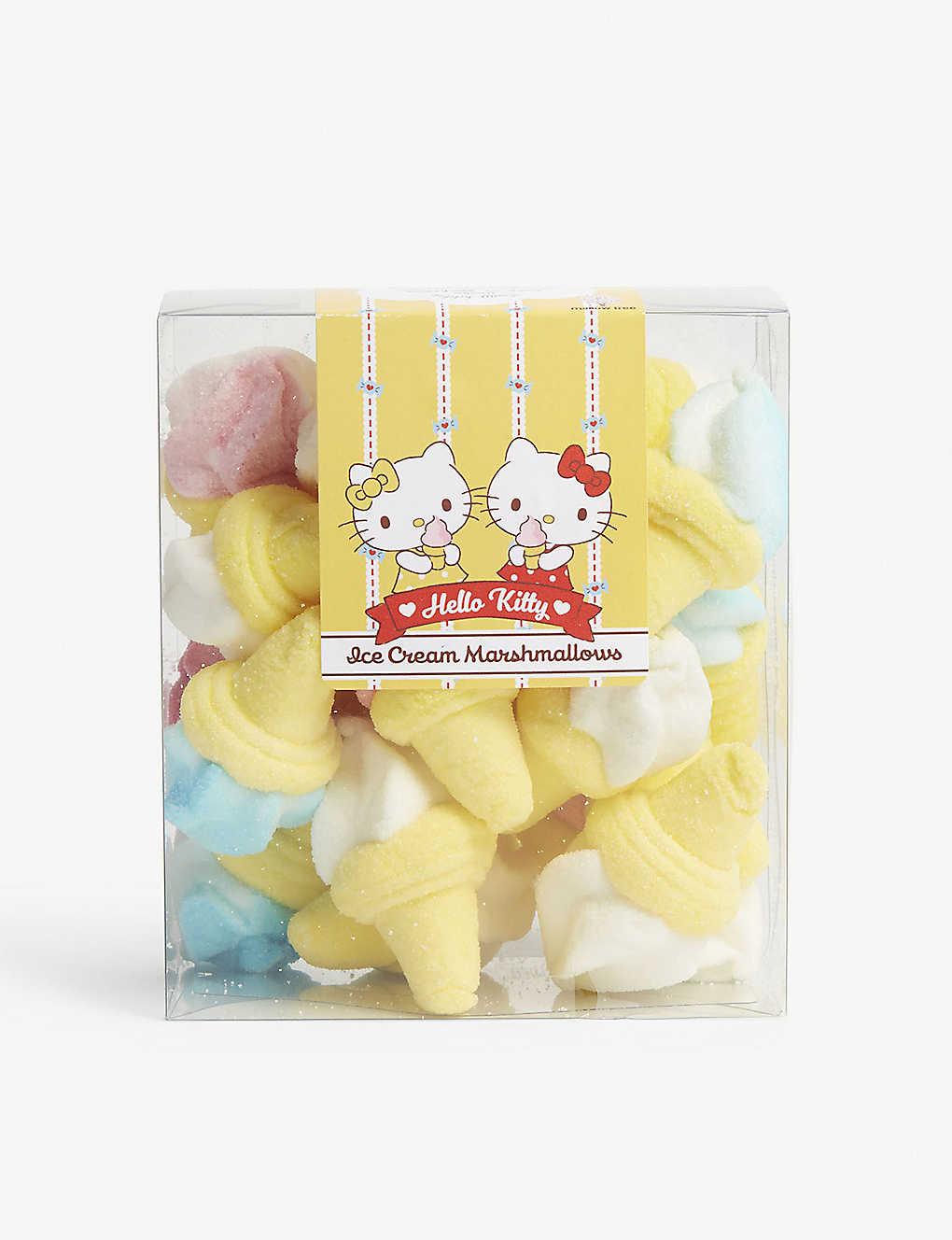 HELLO KITTY Ice cream marshmallows at Selfridges