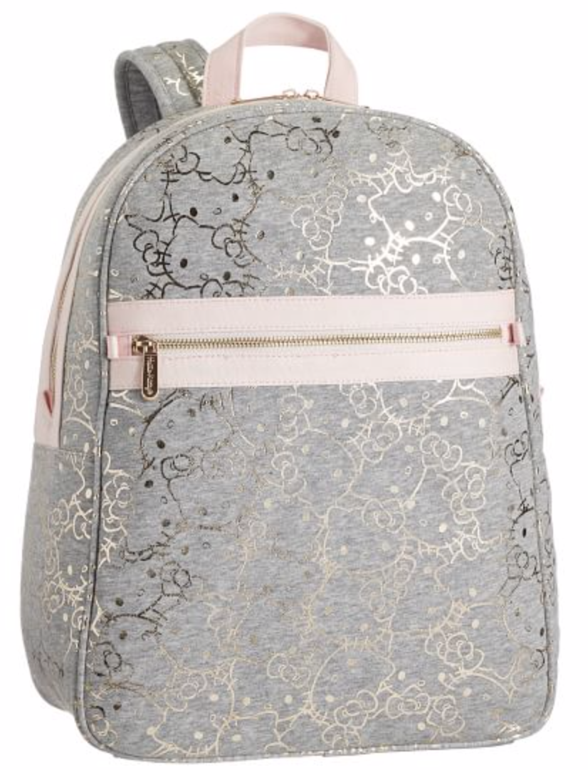 Hello Kitty® Gray/Gold Backpack from Pottery Barn Teen