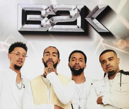 Limited Edition B2K White Poster - Band in White