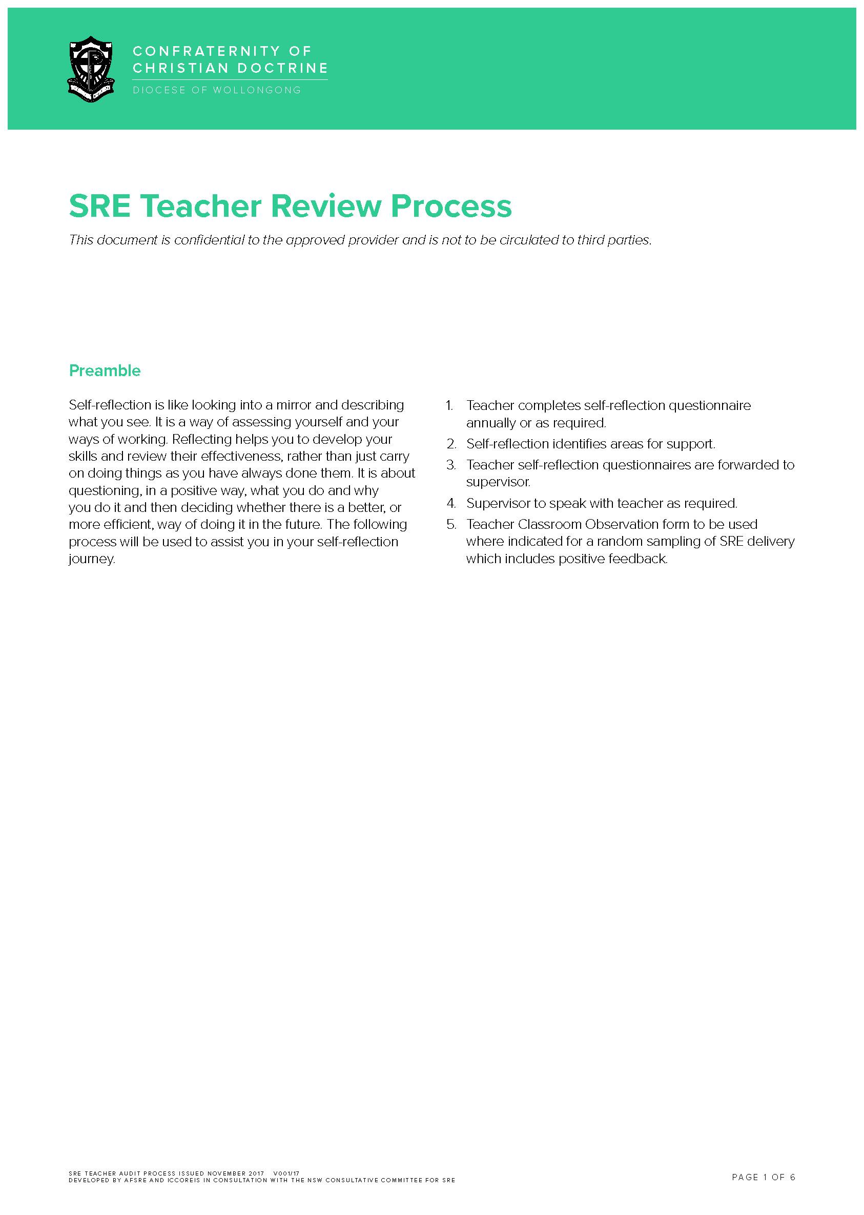 Classroom Visit Form