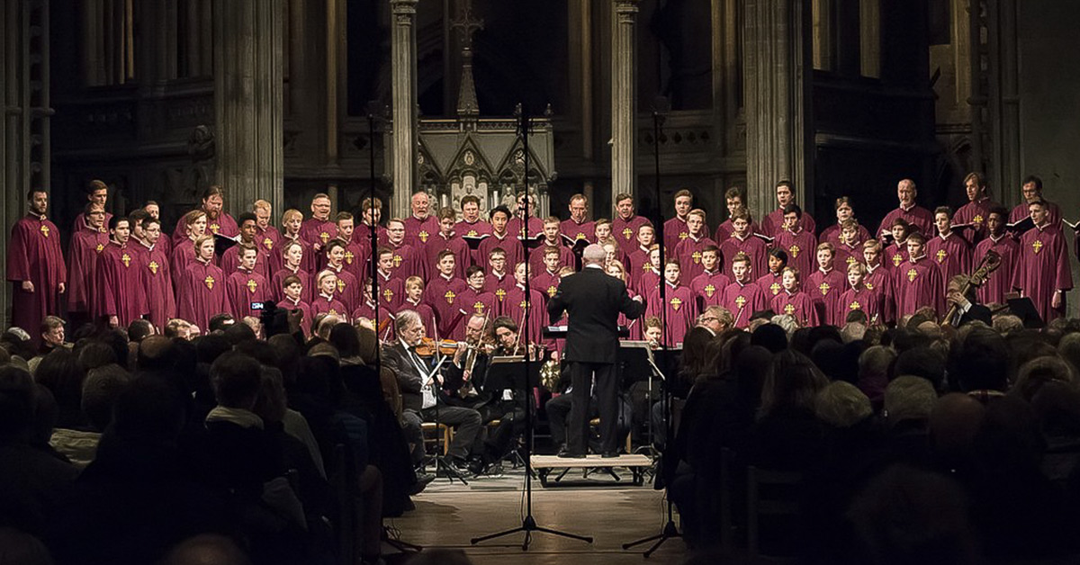 NGK during the 2017 spring concert in the Nidaros Cathedral.