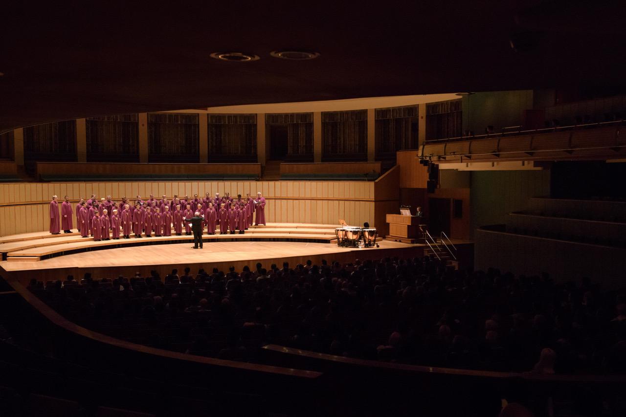 … in concert halls …