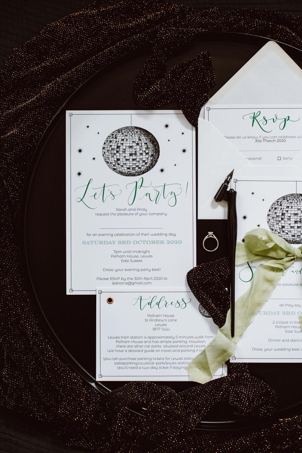 Zero Waste Wedding Stationery Handmade Recycled Greetings Card Congratulations Wedding Card Eco Friendly Wedding Card