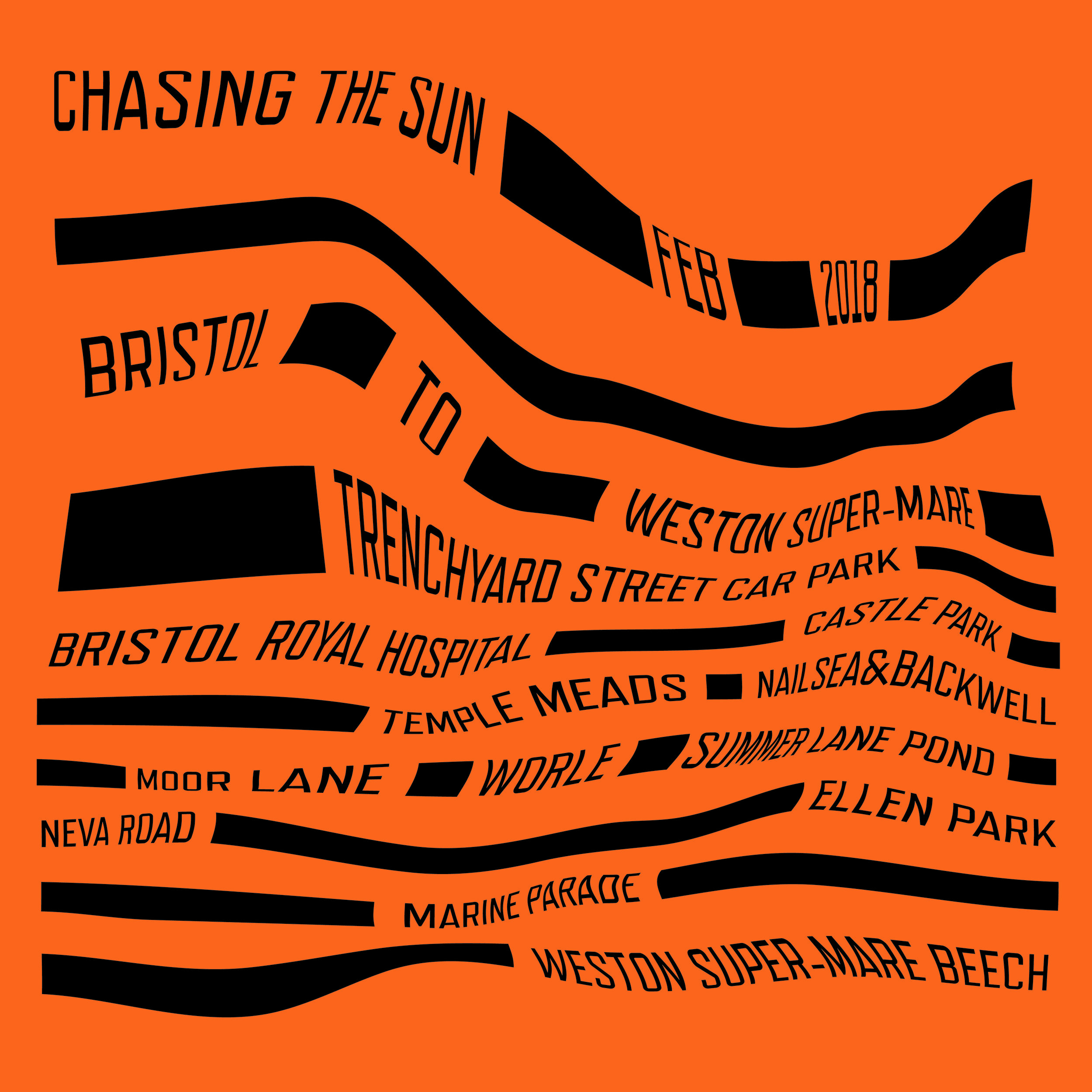 Chasing The Sun experimental poster
